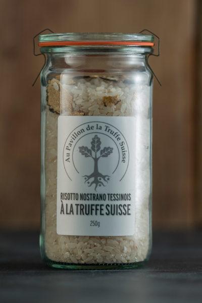 Risotto Nostrano Tessinois à la Truffe Suisse
