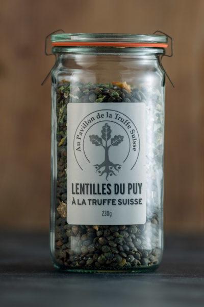 Lentilles du Puy à la Truffe Suisse