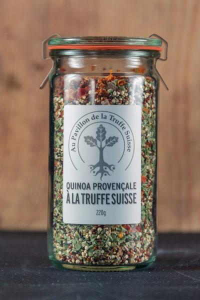 Quinoa provençale à la Truffe Suisse